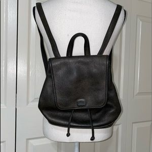 Rare coach vintage pebbles leather backpack